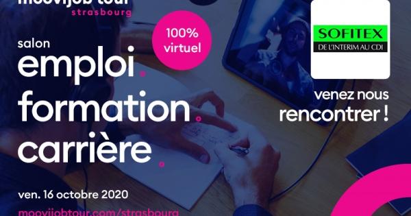 Sofitex présent au Moovijob Tour 2020 en virtuel !